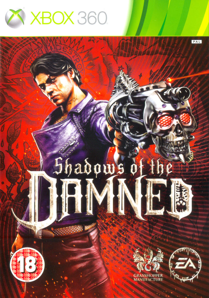 Shadows of the Damned Xbox 360 Front Cover