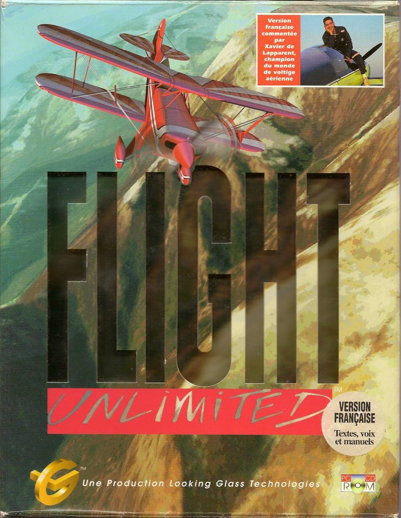 Flight Unlimited DOS Front Cover