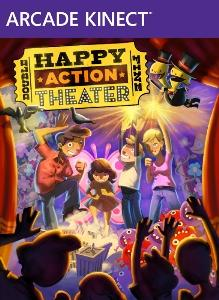 Double Fine Happy Action Theater Xbox 360 Front Cover
