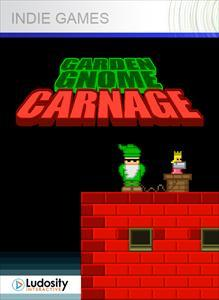 Garden Gnome Carnage Xbox 360 Front Cover