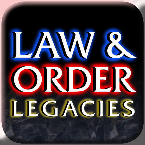 Law & Order: Legacies iPad Front Cover