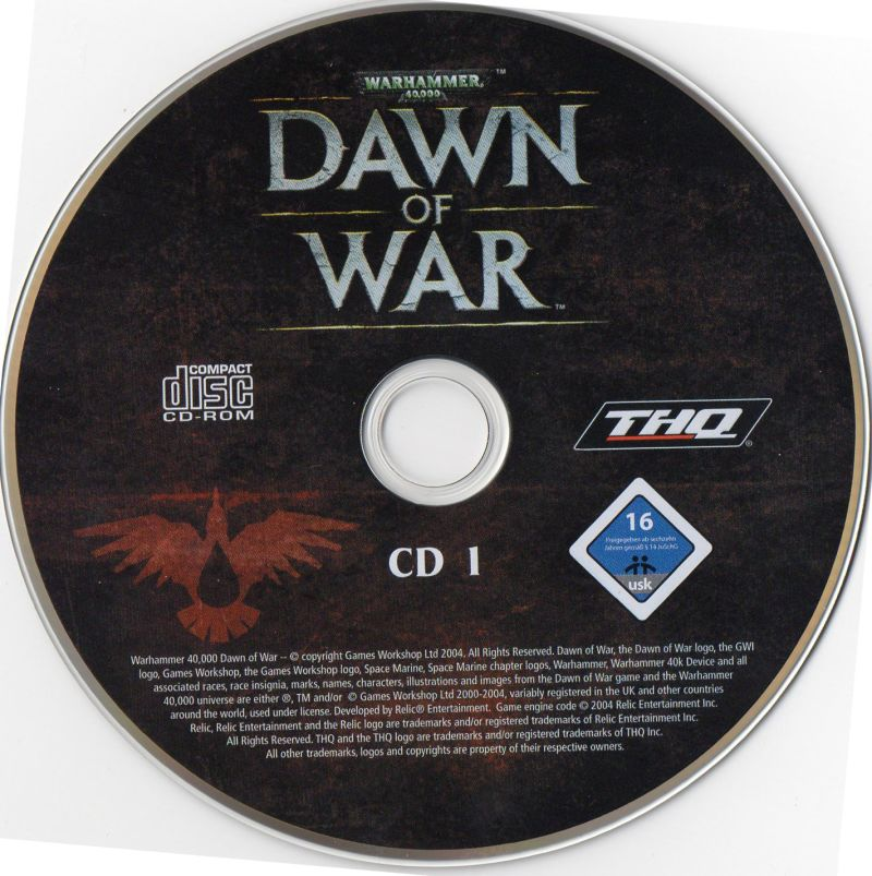 Warhammer 40,000: Dawn of War - Game of the Year Windows Media Disc 1/3