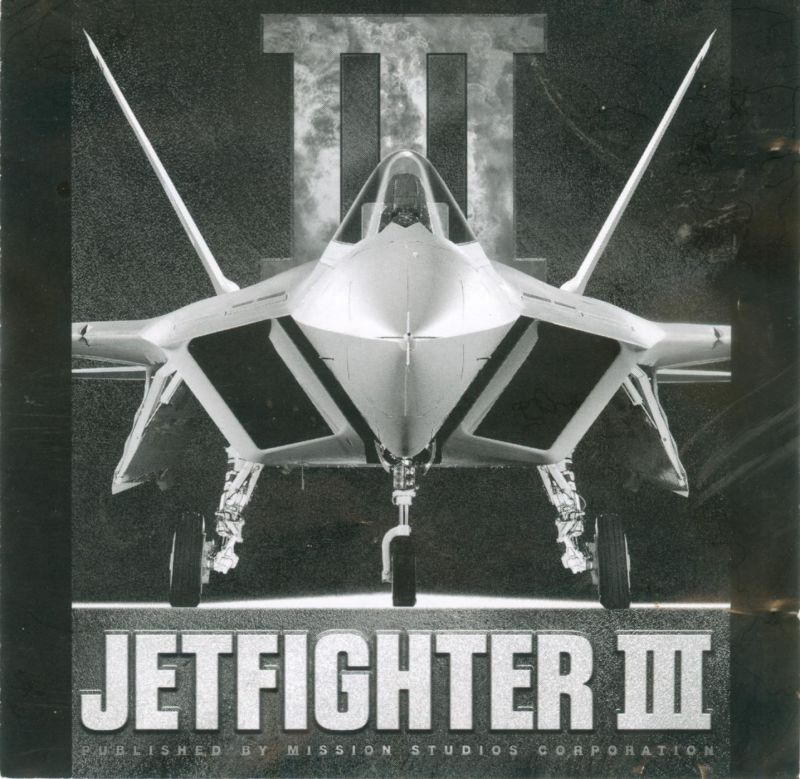 JetFighter III DOS Other Jewel Case - Front