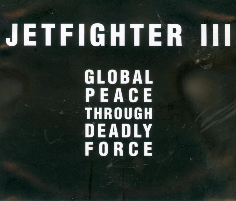 JetFighter III DOS Other Jewel Case - Back
