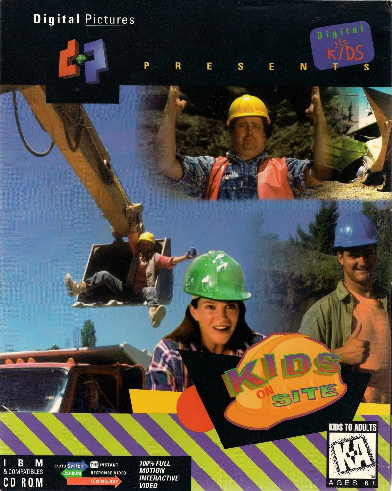 Kids on Site DOS Front Cover