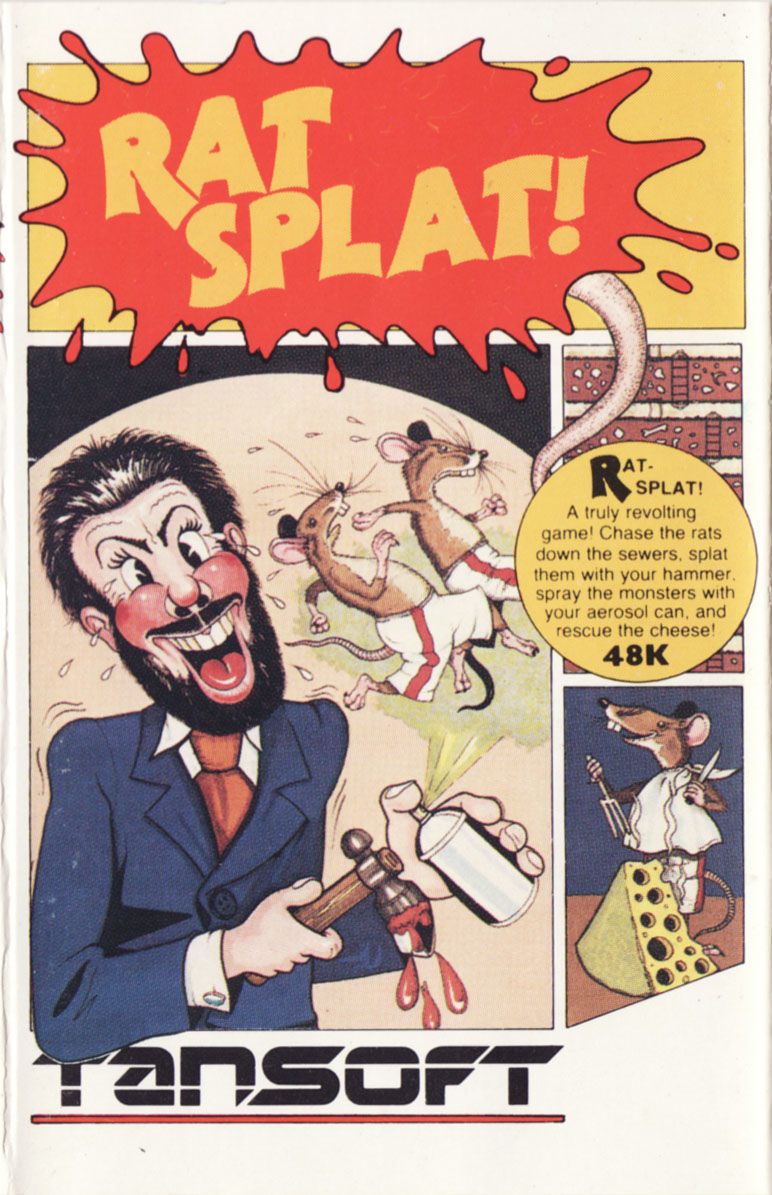 Rat Splat! Oric Front Cover