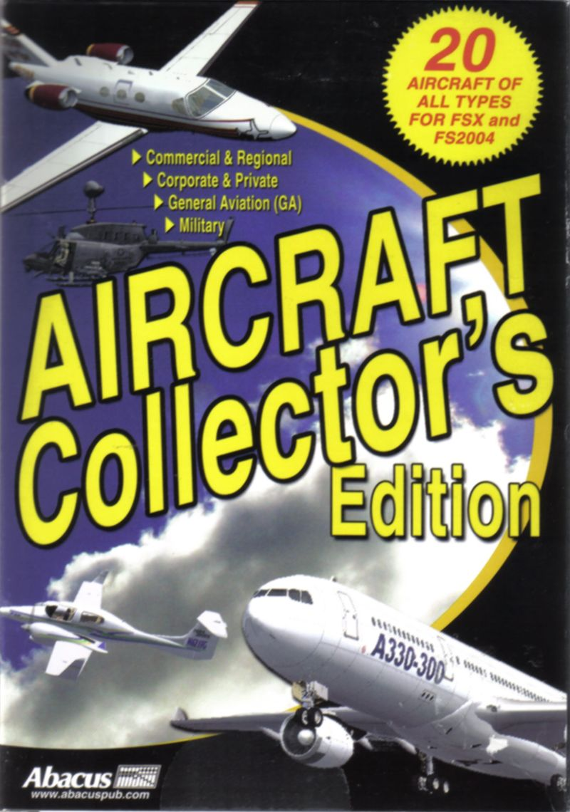 Aircraft Collector's Edition Windows Front Cover