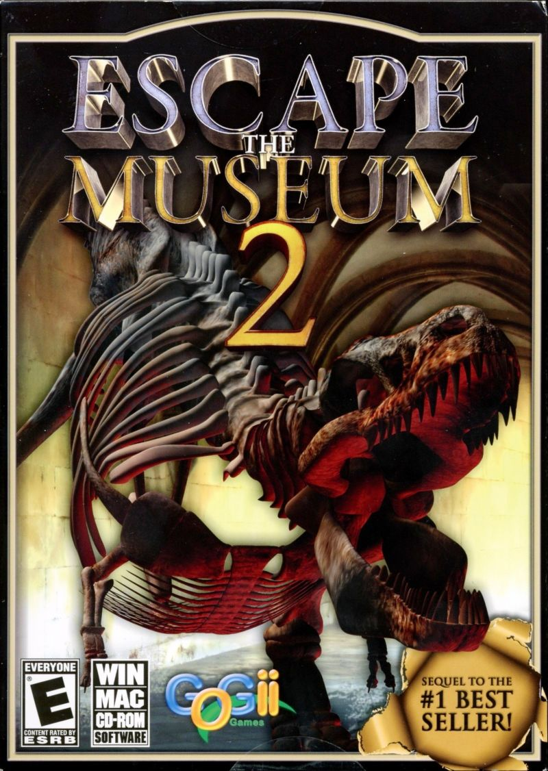 Escape the Museum 2 Macintosh Front Cover