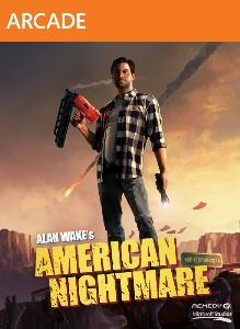 Alan Wake's American Nightmare Xbox 360 Front Cover