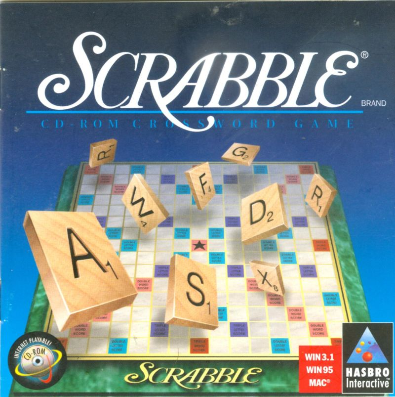 Scrabble Macintosh Front Cover