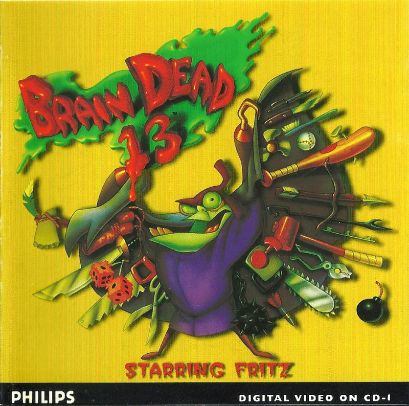 Brain Dead 13 CD-i Front Cover