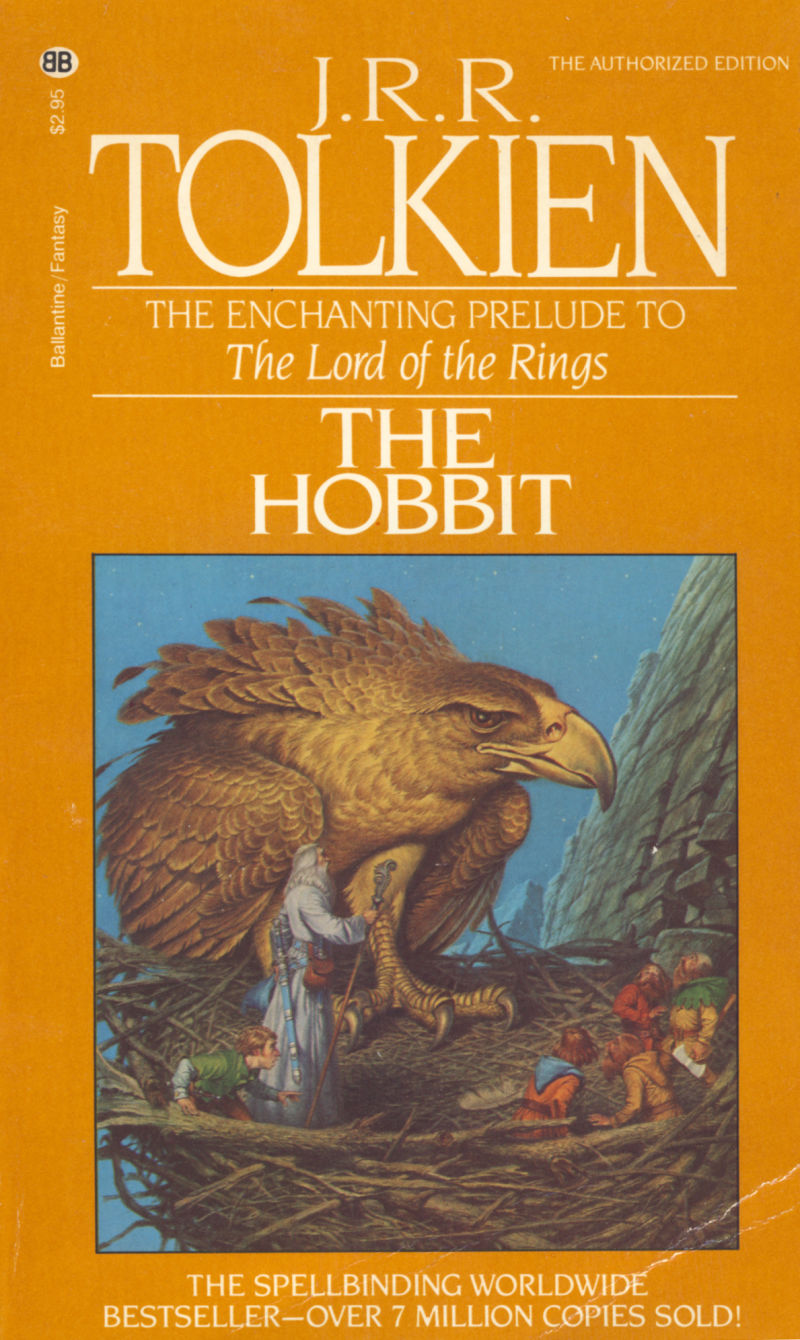 The Hobbit Commodore 64 Other This is the cover of the book that was included. Since it is unique to this edition of the software.