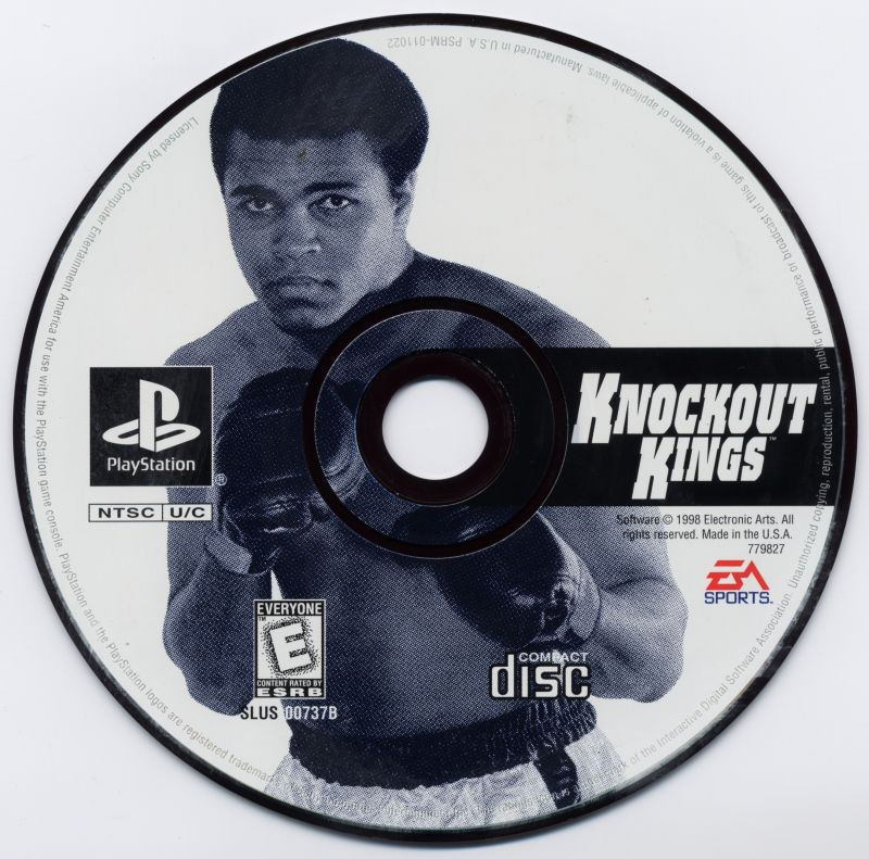 Knockout Kings PlayStation Media