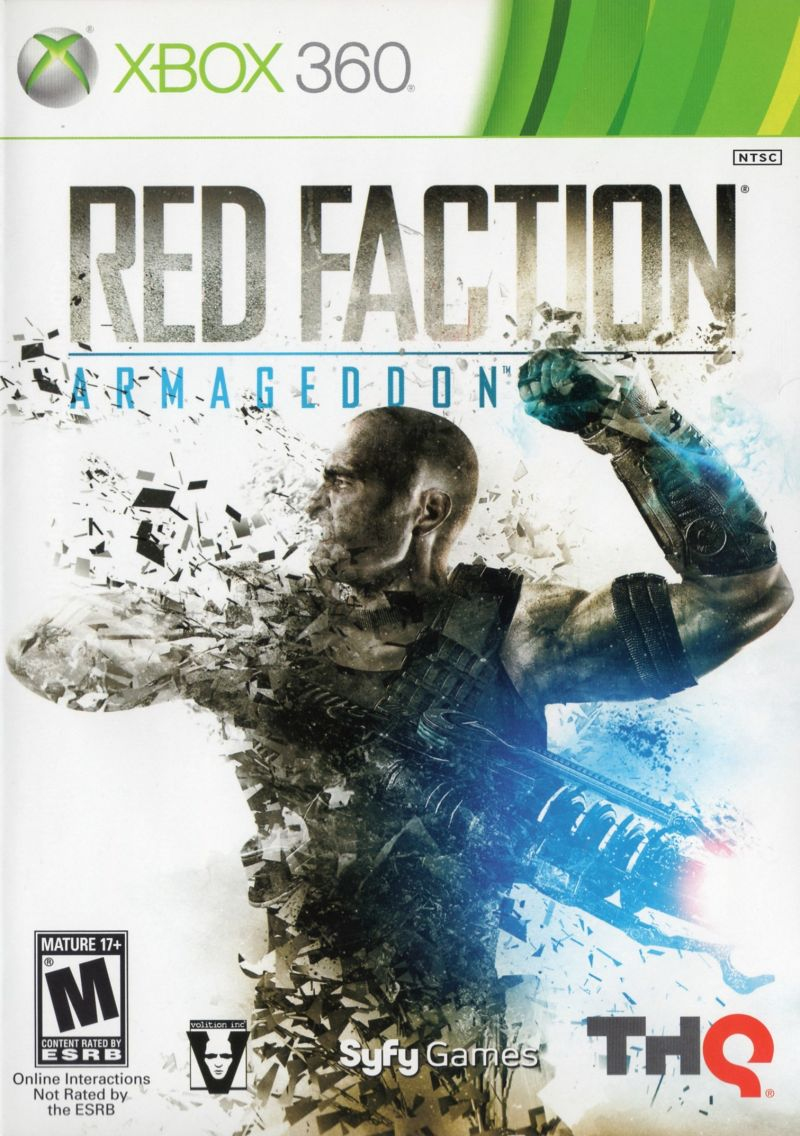 Red Faction: Armageddon Xbox 360 Front Cover