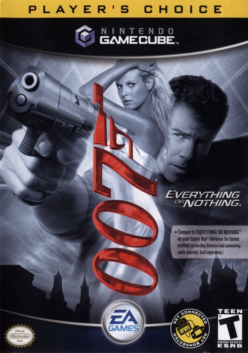 007: Everything or Nothing GameCube Front Cover