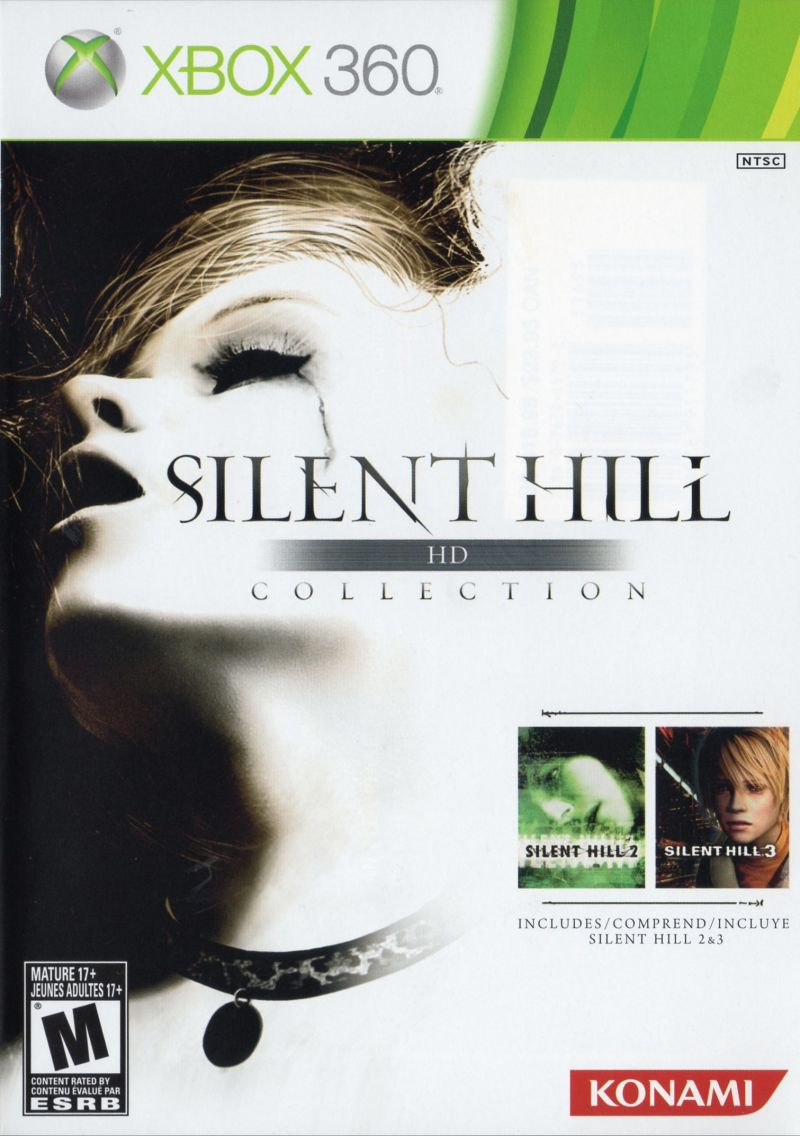 Silent Hill HD Collection Xbox 360 Front Cover