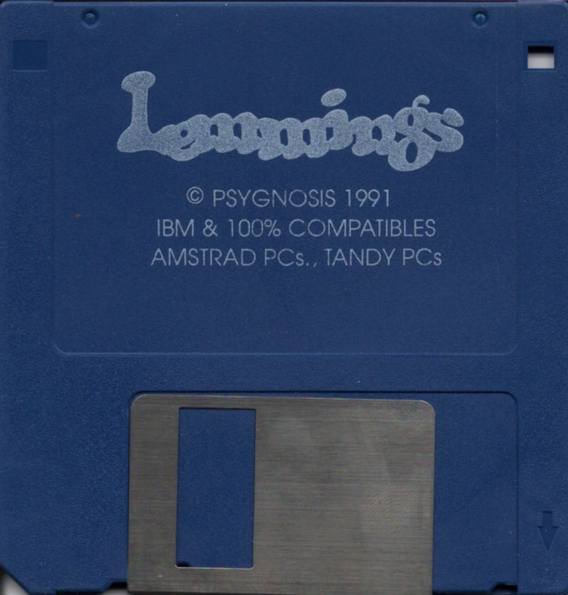 Lemmings DOS Media