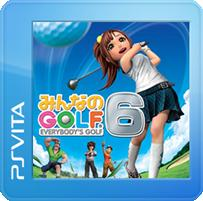 Hot Shots Golf World Invitational PS Vita Front Cover