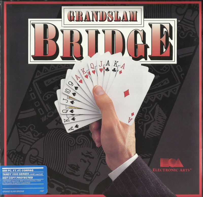 Grand Slam Bridge DOS Front Cover