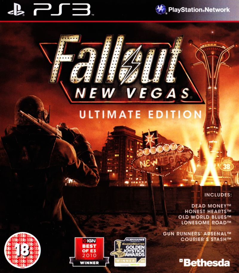 Fallout: New Vegas (Ultimate Edition) PlayStation 3 Front Cover