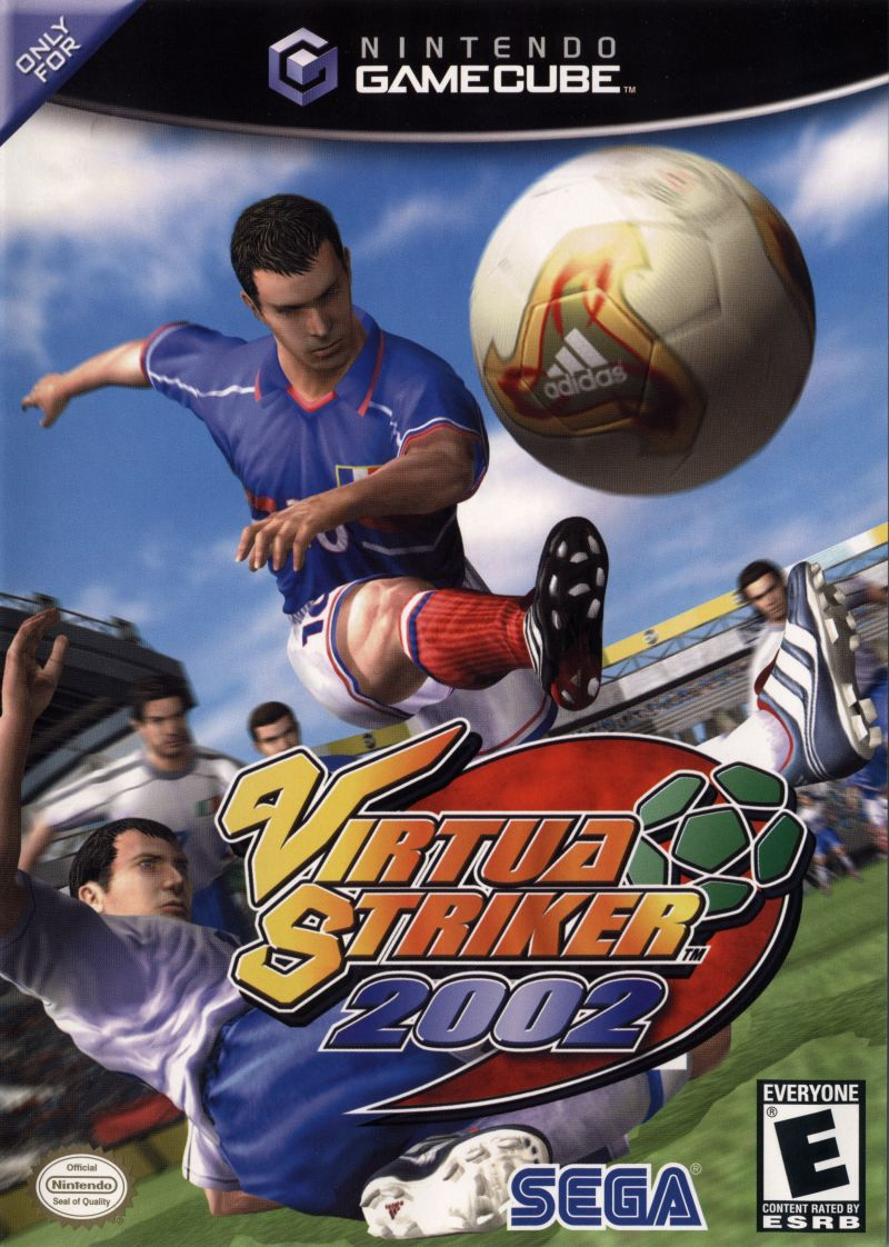 Virtua Striker 2002 GameCube Front Cover