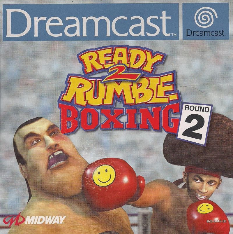 Ready 2 Rumble Boxing: Round 2 Dreamcast Front Cover