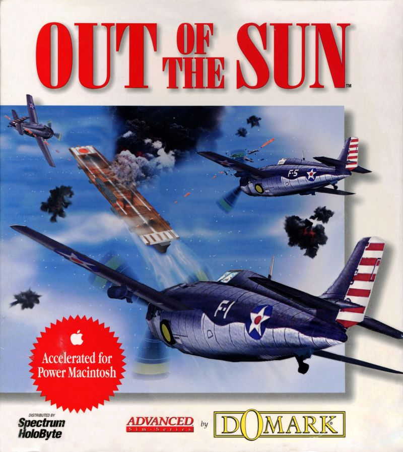 Out of the Sun Macintosh Front Cover