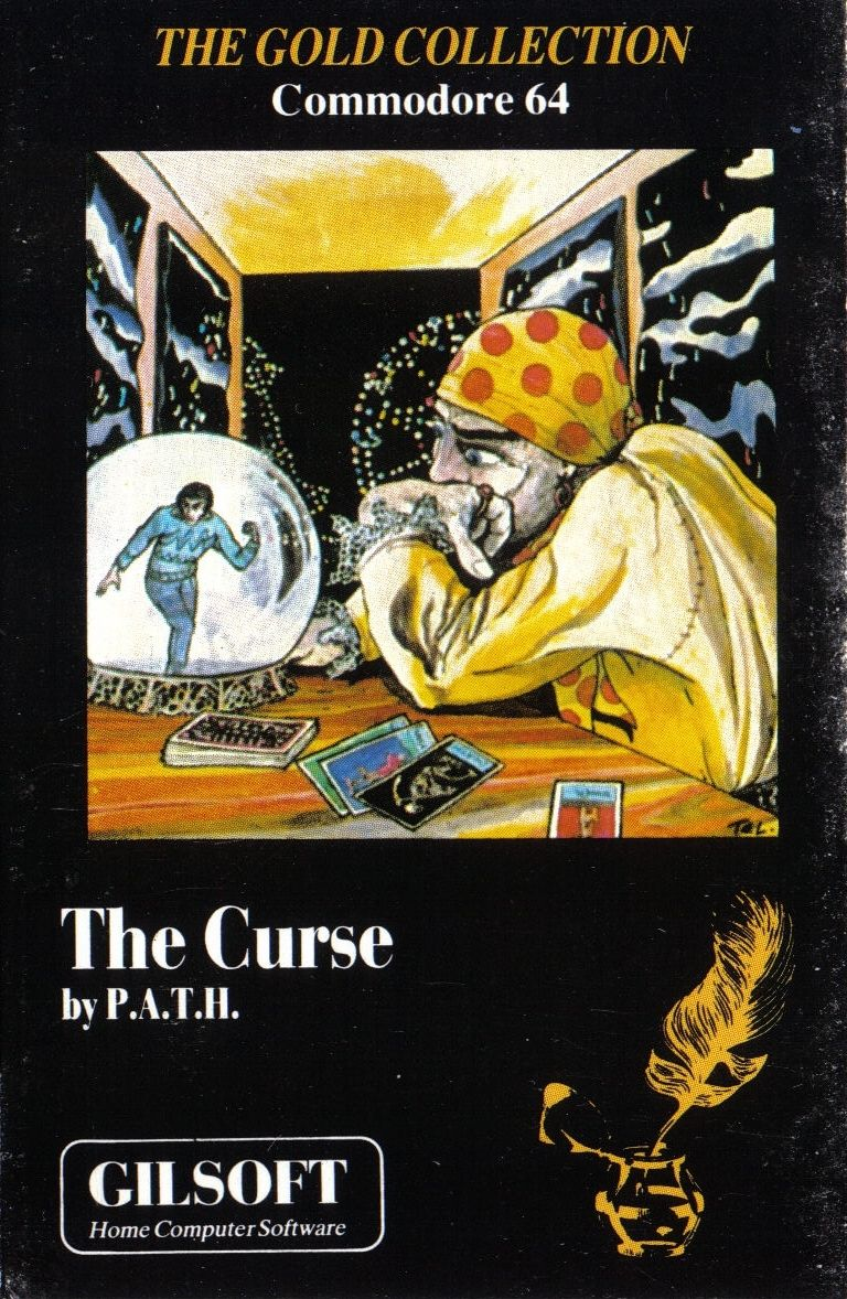The Curse Commodore 64 Front Cover