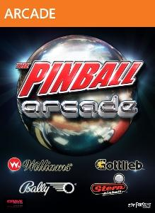 The Pinball Arcade Xbox 360 Front Cover