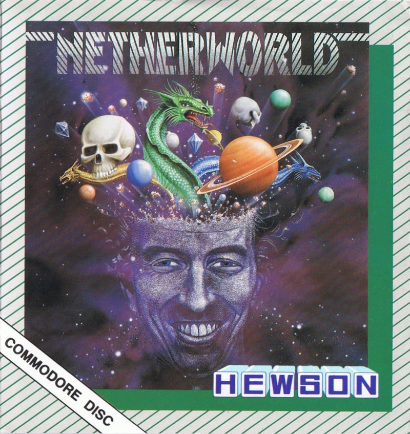 Netherworld Commodore 64 Front Cover