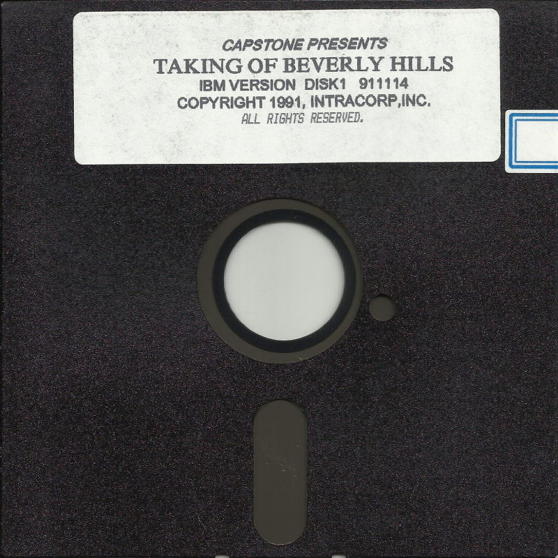 The Taking of Beverly Hills DOS Media Disk 1/5
