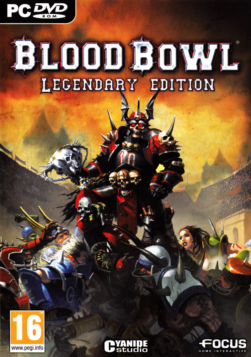 Blood Bowl: Legendary Edition Windows Front Cover