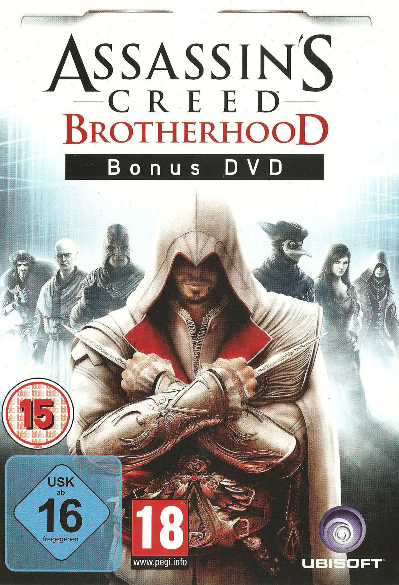 Assassin's Creed: Brotherhood (Codex Edition) PlayStation 3 Other Bonus Dvd - Front