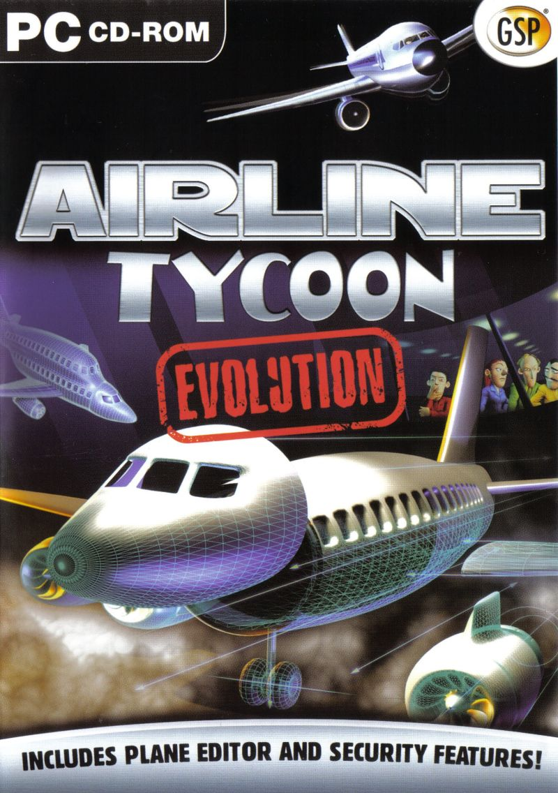 Airline Tycoon Evolution Windows Front Cover