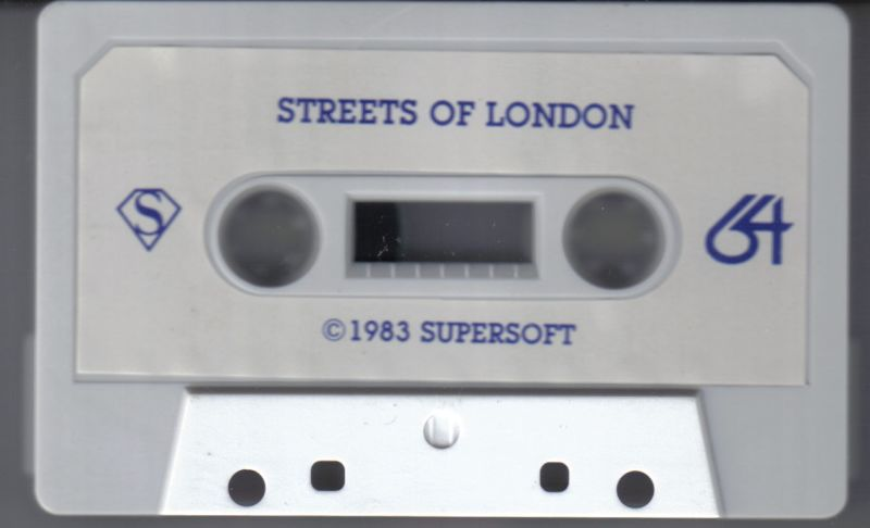 Streets of London Commodore 64 Media