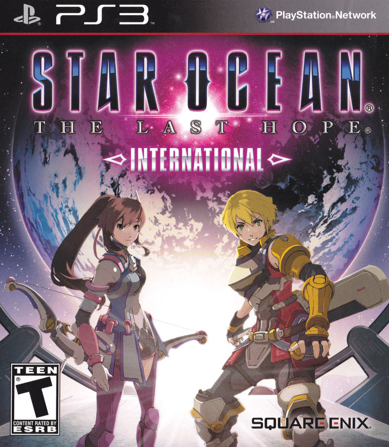 Star Ocean: The Last Hope - International PlayStation 3 Front Cover