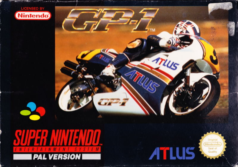 GP-1 SNES Front Cover