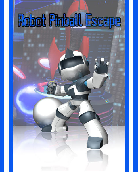 Robot Pinball Escape Windows Front Cover