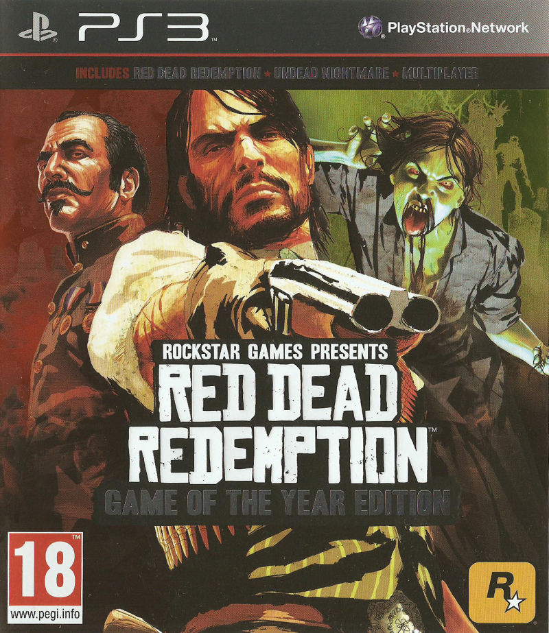 Red Dead Redemption: Game of the Year Edition PlayStation 3 Front Cover