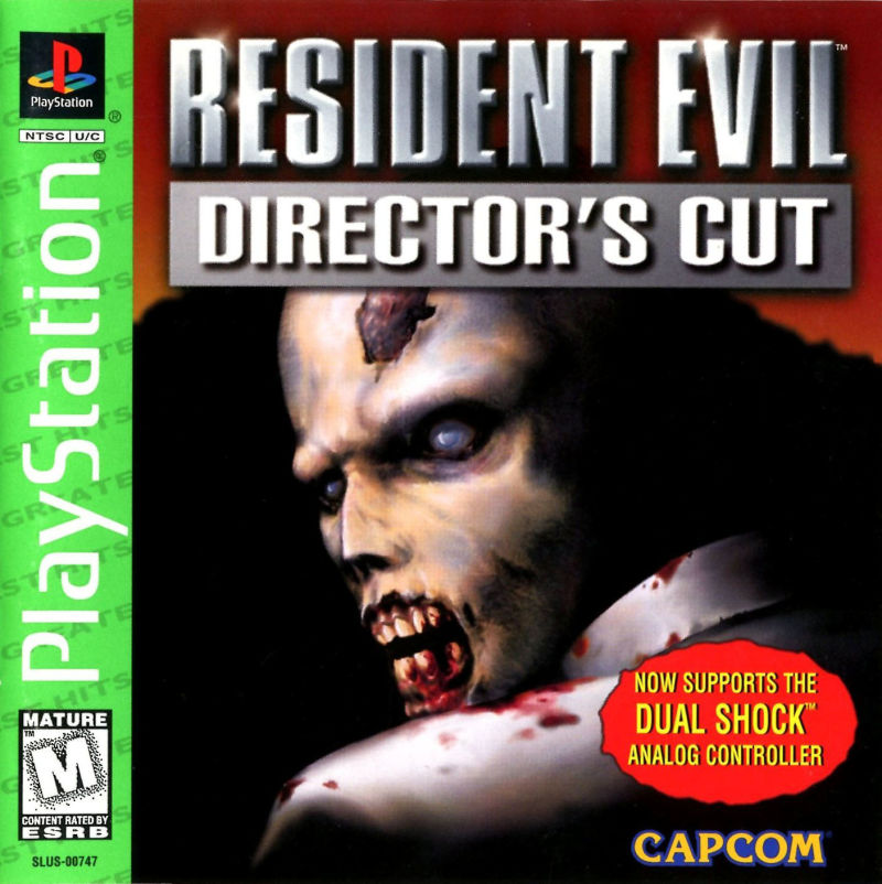 Resident Evil: Director's Cut PlayStation Front Cover