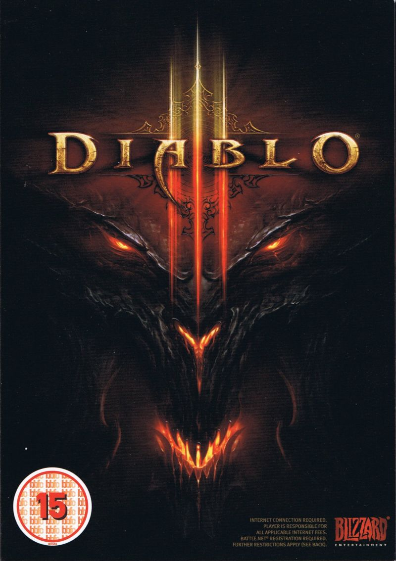 Diablo III Macintosh Front Cover Outer Box