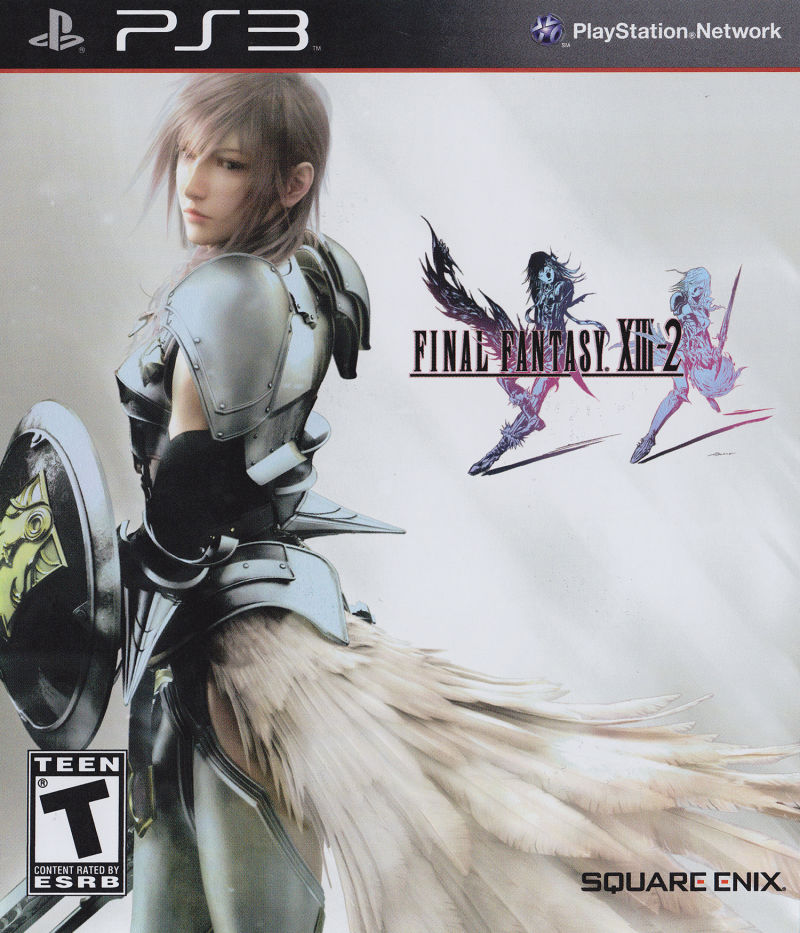 Final Fantasy XIII-2 PlayStation 3 Front Cover
