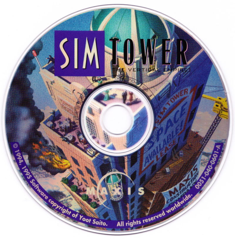 SimTower: The Vertical Empire Macintosh Media