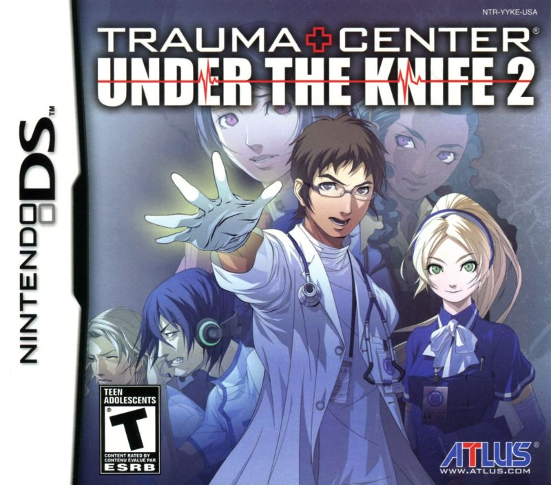 Trauma Center: Under the Knife 2 Nintendo DS Front Cover