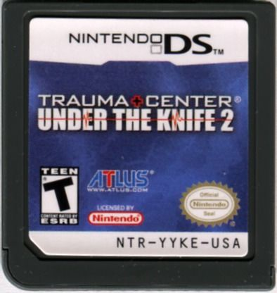 Trauma Center: Under the Knife 2 Nintendo DS Media
