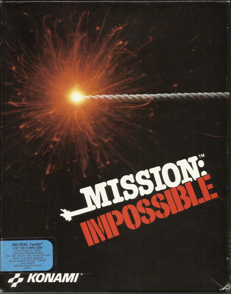 Mission: Impossible DOS Front Cover