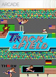 Track & Field Xbox 360 Front Cover