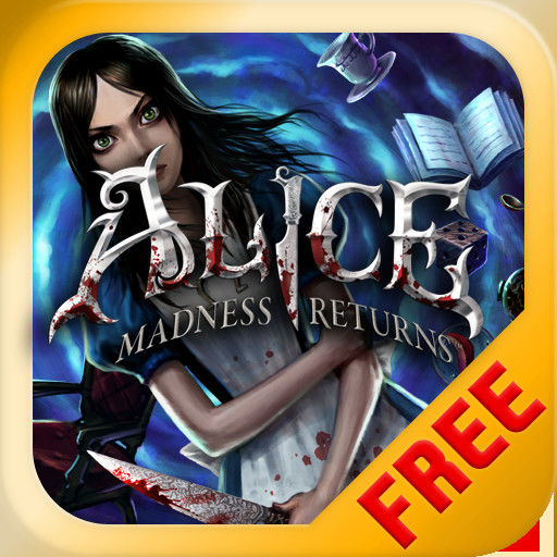 Alice: Madness Returns iPad Front Cover