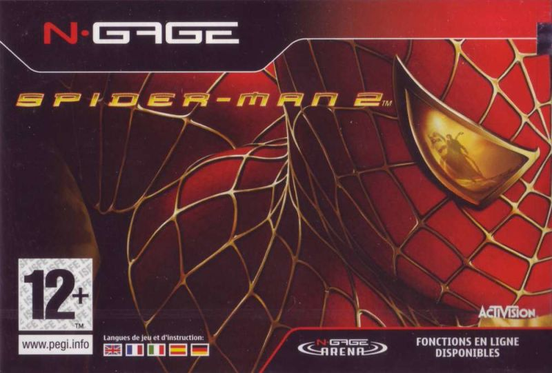Spider-Man 2 N-Gage Front Cover