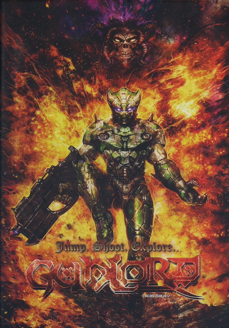 Gunlord Dreamcast Front Cover